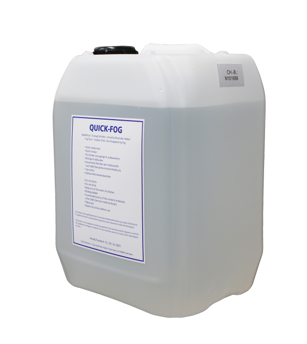 Case/4 Quick Fog Fluid 5L