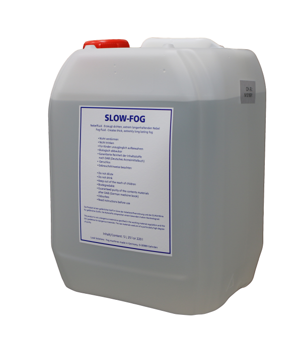 Case/4 Slow Fog Fluid 5L