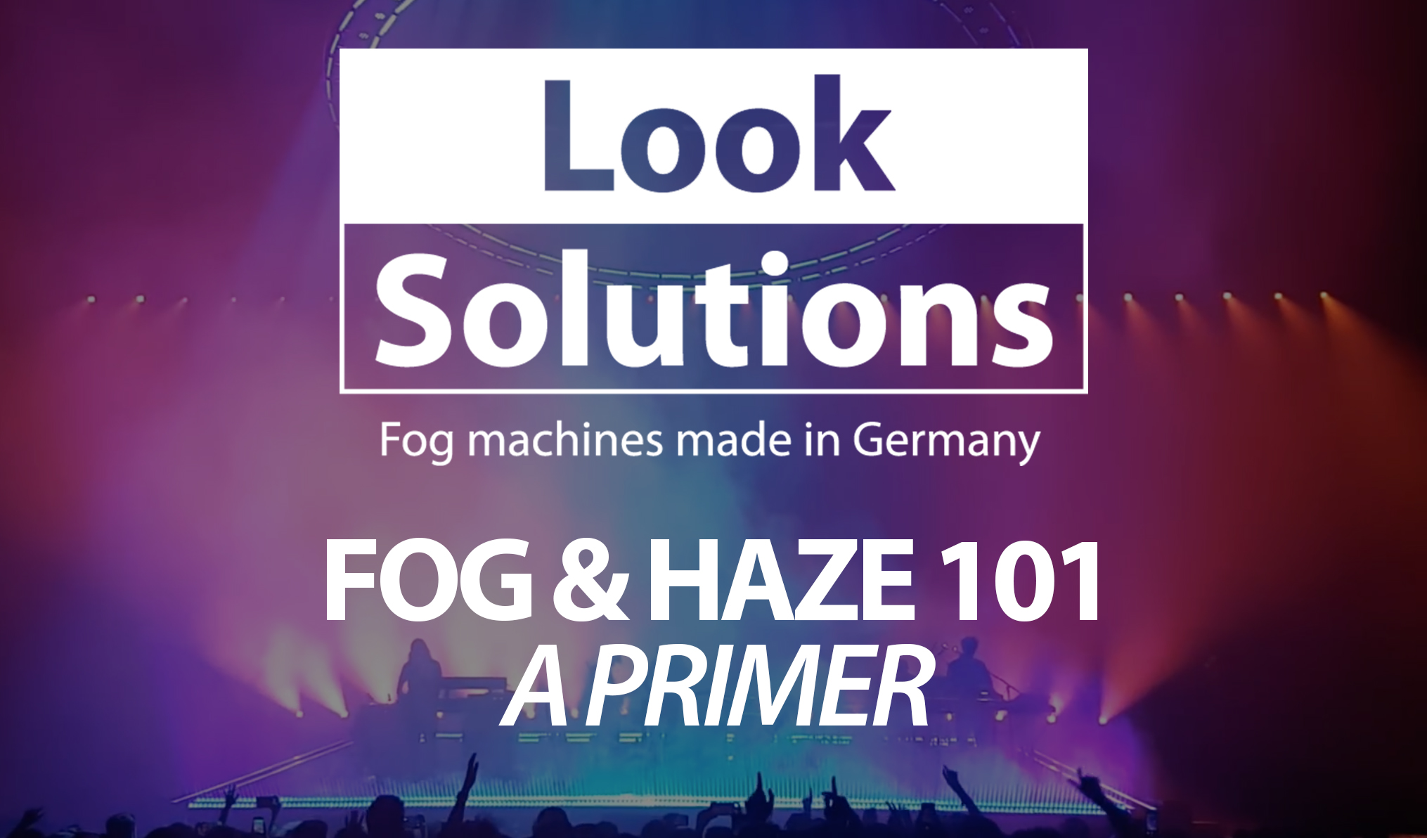 fog and haze machine 101
