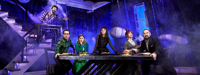 How Fog Brings the Macabre to Beetlejuice on Broadway